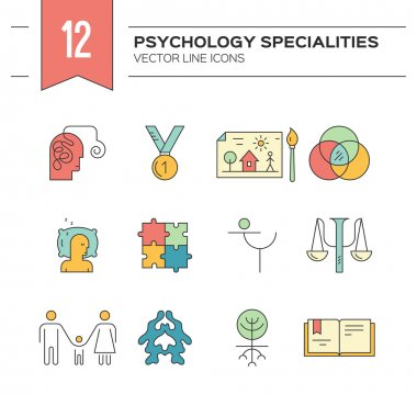 Vector Counseling Icons