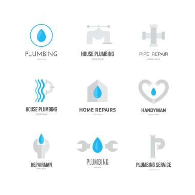 handyman and house repair symbols