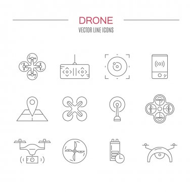 Drone Icons Collection