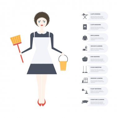 Housecleaning Infographic