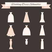 svatební šaty styl