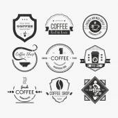 Fotografie Coffee Shop Logo Collection