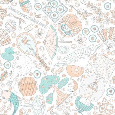 Japanese Seamless Pattern