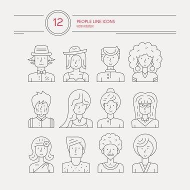People Avatars Icons