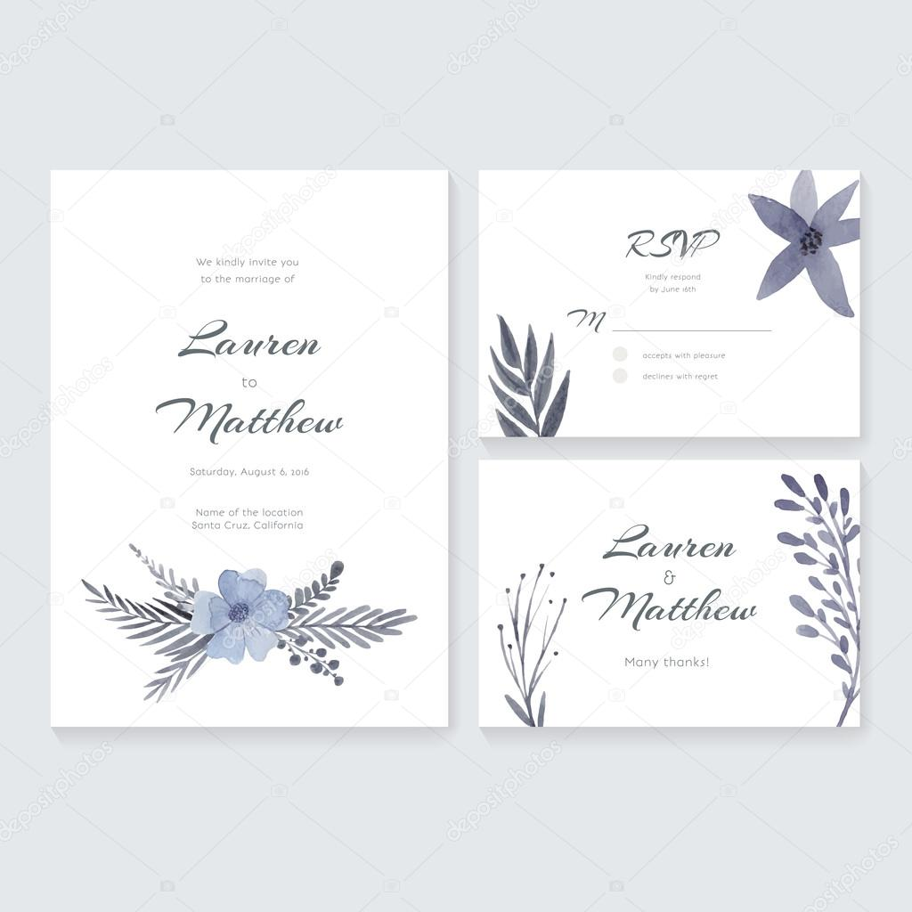 Ziemlich Postkarte Hochzeitseinladungsvorlage Bilder - Entry Level ...