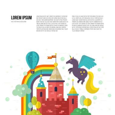 Fairy Castle Illustration