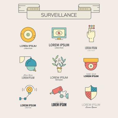 Modern CCTV Icons