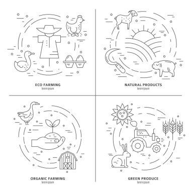 different agricultural symbols
