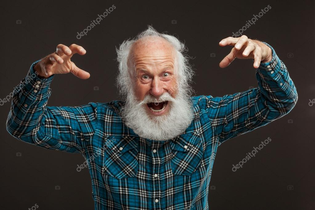 Super Old Man With A Long Beard Wiith Big Smile Stock Photo Hairstyle Inspiration Daily Dogsangcom