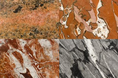 Colorful natural stone texture as background