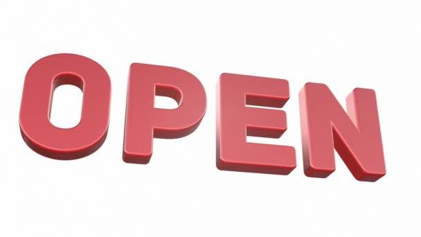 3D video for the Internet - shop. Open.