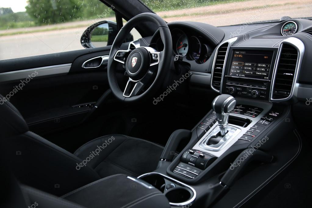 Porsche Cayenne GTS Interior U2014 Stock Photo