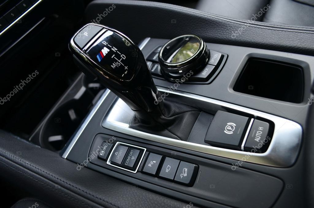 BMW X6 M50d control panel