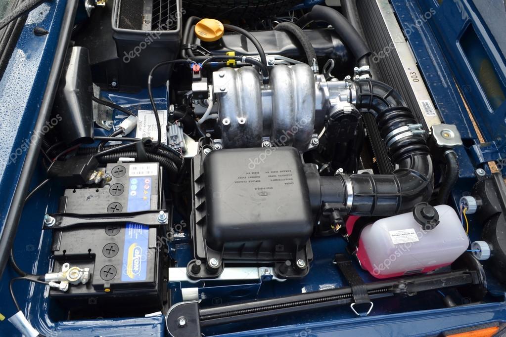 LADA 4x4 at test drive