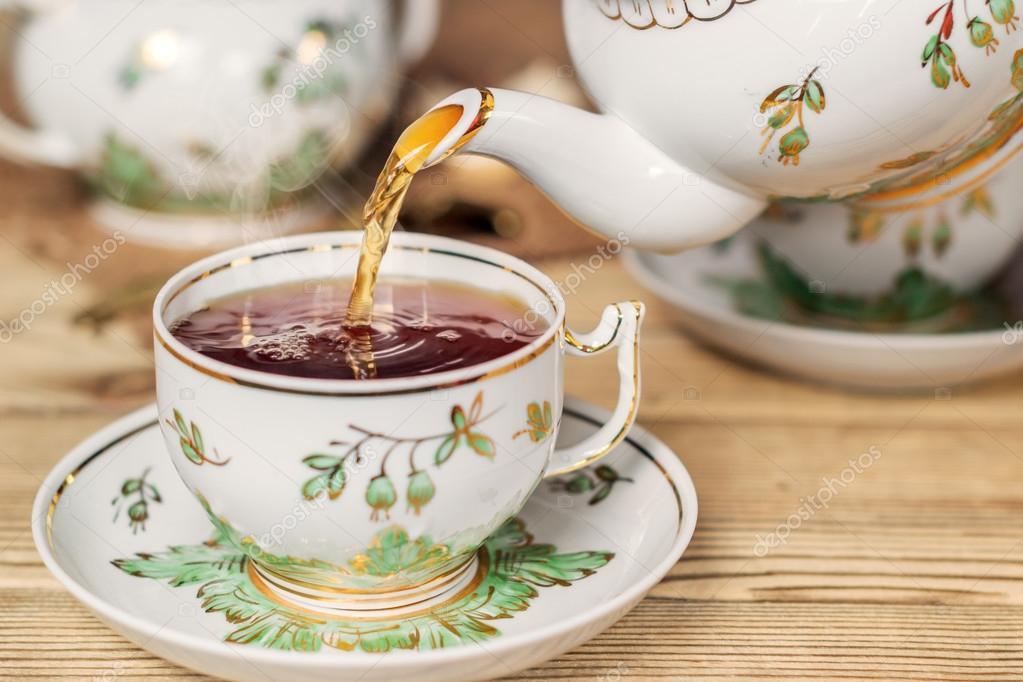 Налей чай