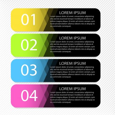 Modern inforgraphic template. Can be used for banners