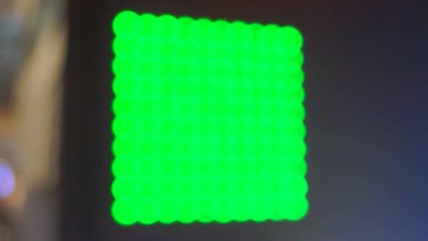 barevné osvětlení pozadí