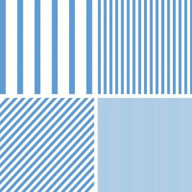 Patterns set of stripes pattern background.