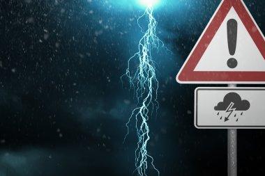 Caution - Thunderstorm ahead