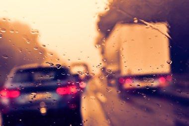 Commuter Traffic - Bad Weather