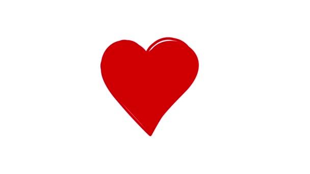 Corazón En Movimiento Vídeos De Stock Olafnaami 82102816