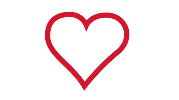 Corazón En Movimiento Vídeos De Stock Olafnaami 82102824