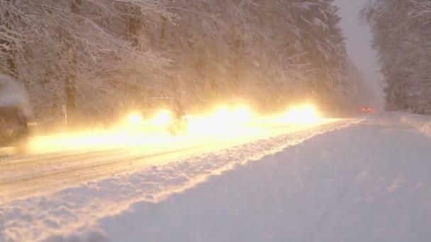 Zimní noční jízdy