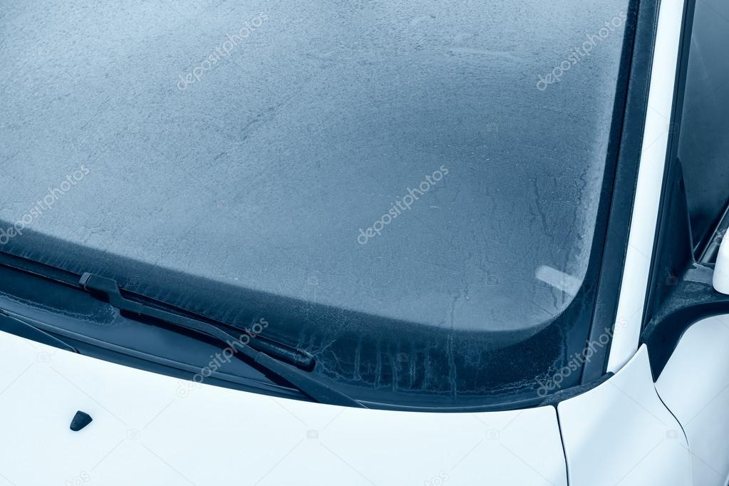 Winter Driving - Ice over Windshield