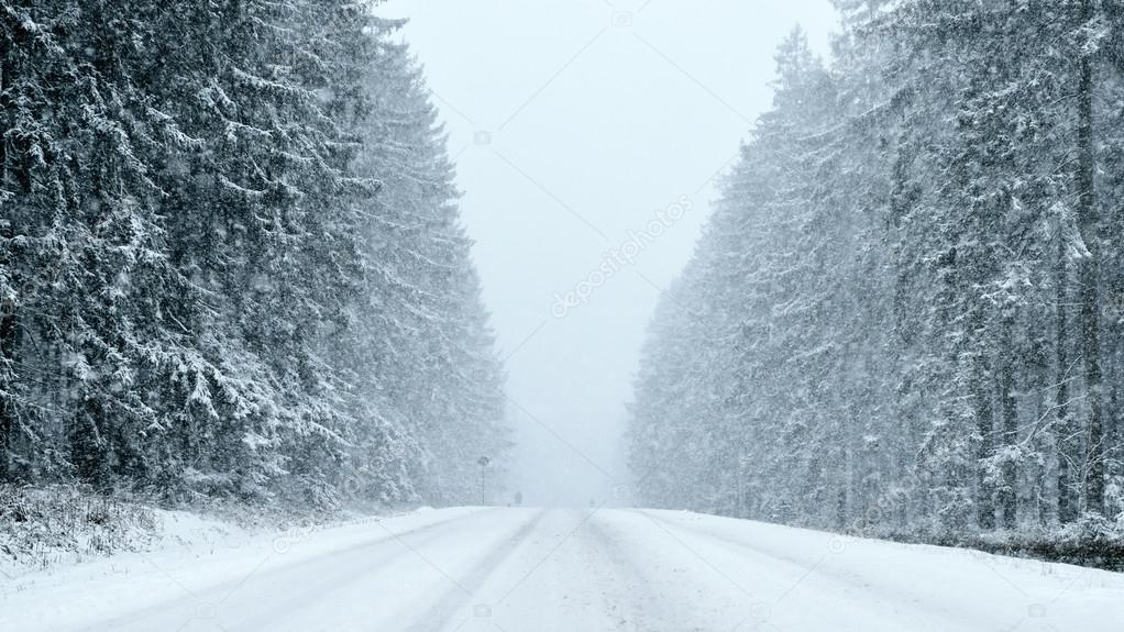 Winter - Heavy Snowfall