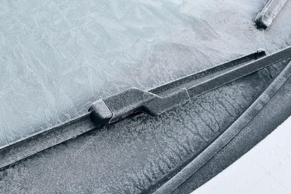 Winter Driving - Icy Windshield