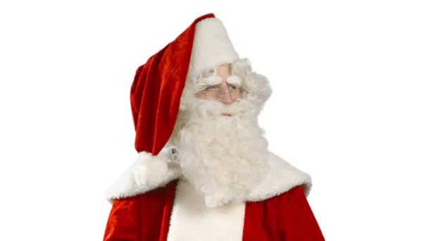 Santa Claus se rozhlížet