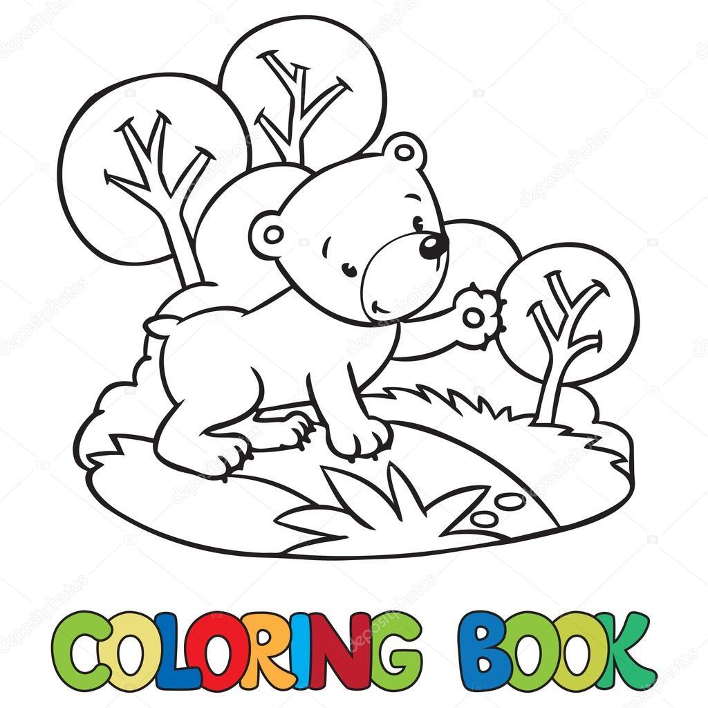 Ositos Durmiendo Para Colorear Libro De Osito Divertido Para