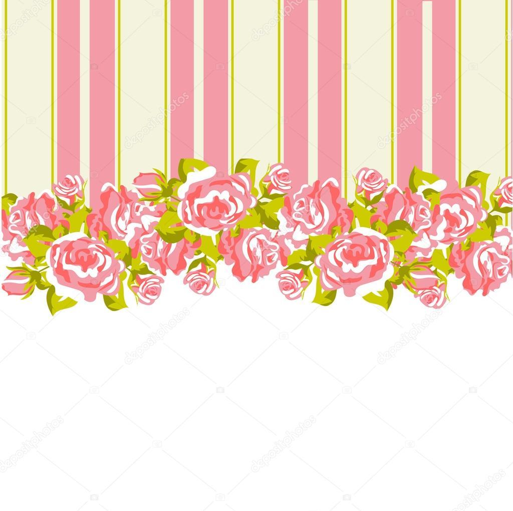 Shabby Chic Floral Pattern Stock Vector C Elenabaryshkina 80938484