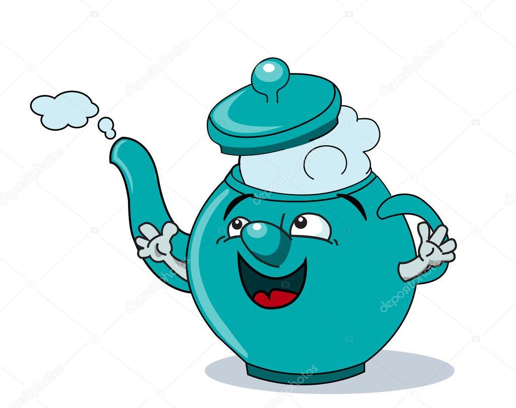 Cartoon Teapot Stock Vector Barrhope 83463842