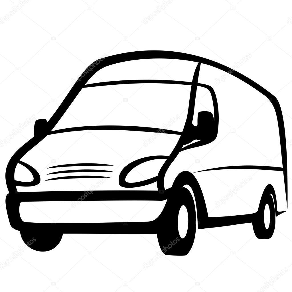 Mercedes Vector Logo >> Commercial van — Stock Vector © fxm73 #59099609