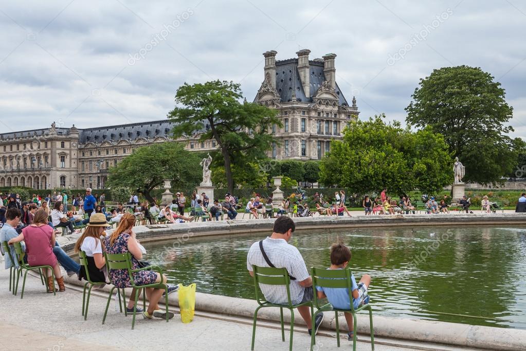 tuileries garden stock photo - Tuileries Garden