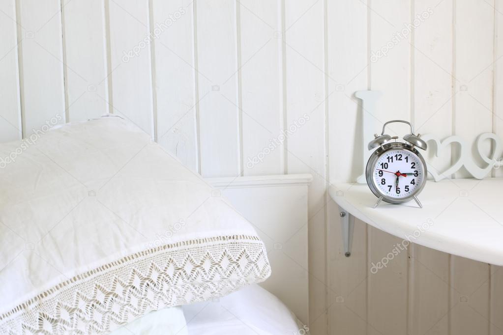 Camera Da Letto Romantica Bianca : Camera da letto romantica bianca in un ambiente di lavoro casa di