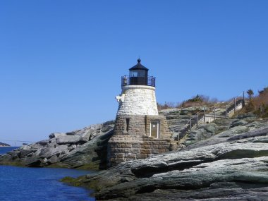 Castle Hill Lighthouse, Rhode Island, USA