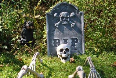 Halloween -  RIP NOT stock vector