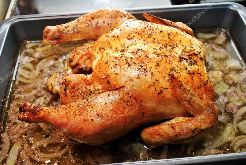 Roasted Chicken in a Pan