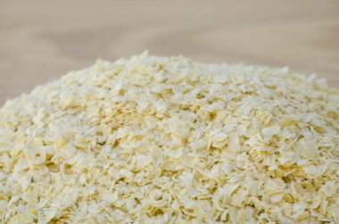 heap of nutritional yeast