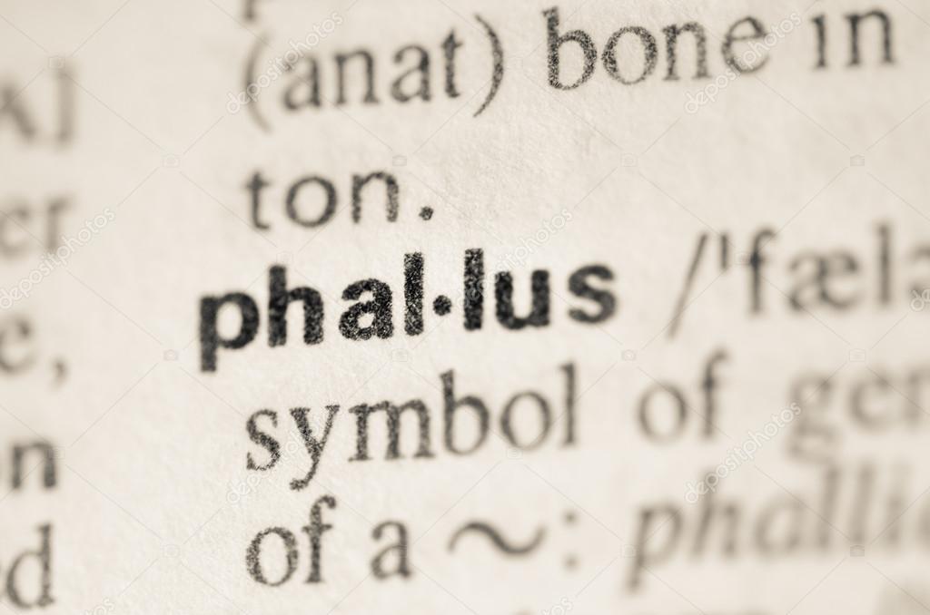 Dictionary Definition Of Word Phallus Stock Photo Aga77ta 68164577
