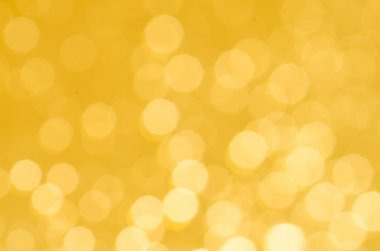 golden abstract blurred bokeh background