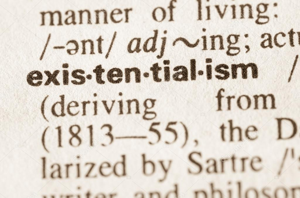 Wonderful Definition Of Word Existentialism In Dictionary U2014 Photo By Aga77ta