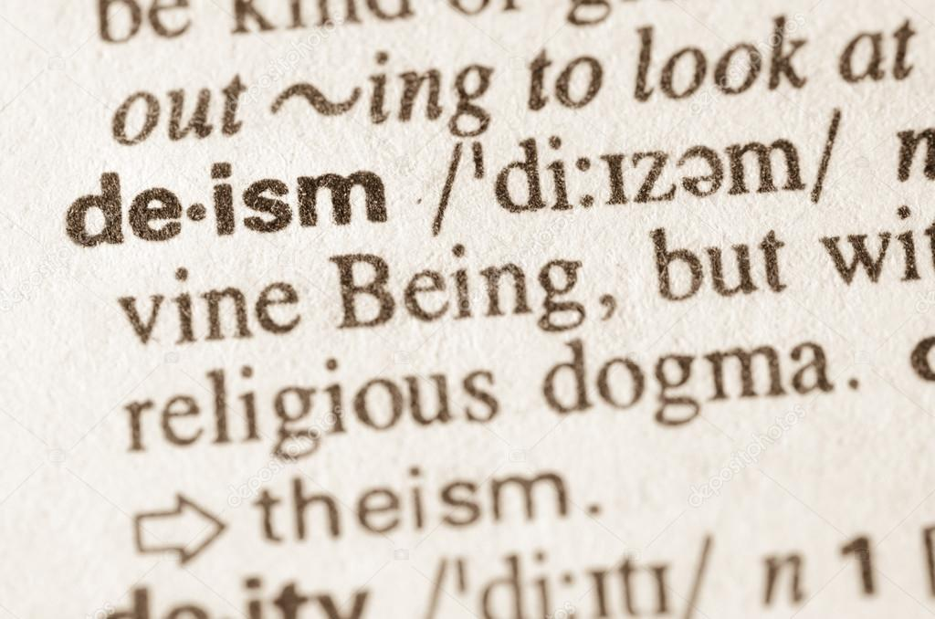 Definition Of Word Deism In Dictionary U2014 Photo By Aga77ta