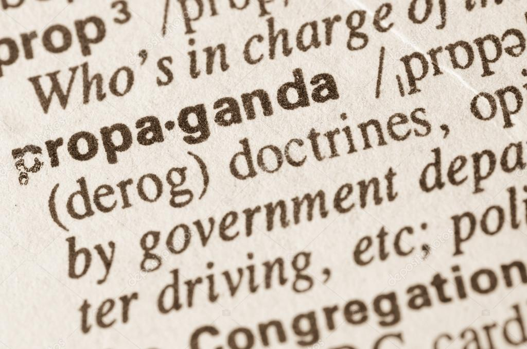 what is the meaning of the word propaganda
