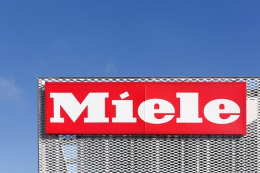 Miele logo on a facade