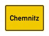 Stadt Chemnitz begrenzt Verkehrszeichen in Deutschland