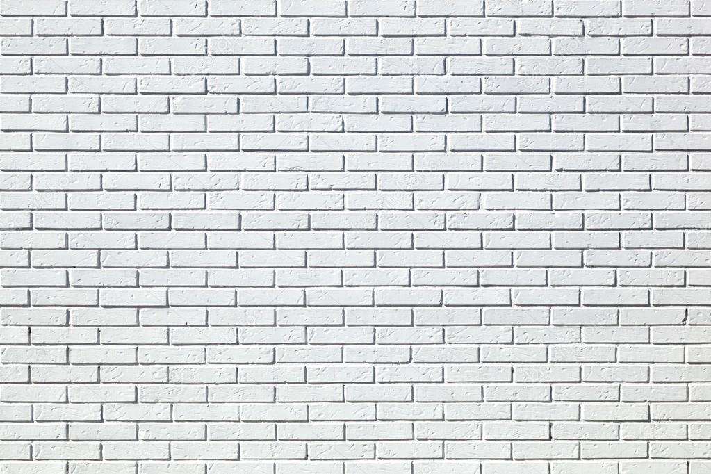 Background Of White Bricks Wall Texture
