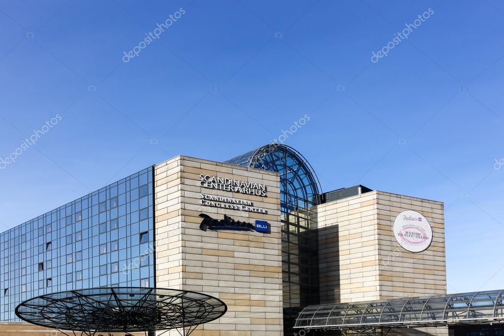 Scandinavian Congress Center In Aarhus Denmark Stock Editorial
